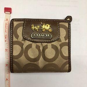Authentic Coach Mini Wallet